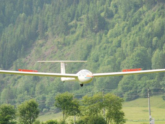 OE-5382 Grob G102 Club Astir II - einsitziges Segelflugzeug meines Heimatvereines in Stockerau, mit dem ich meine ersten Streckenflugerfahrungen gemacht habe.