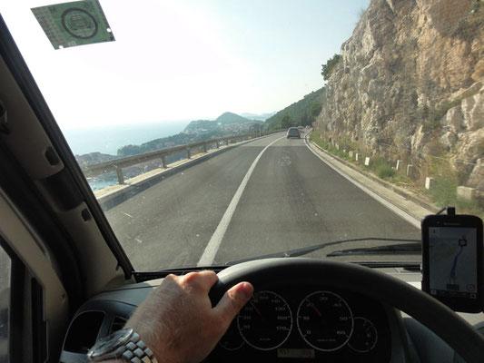 Zurück von Kavtat nach Dubrovnik