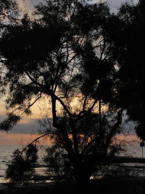 Sonnenuntergang bei Rovinj