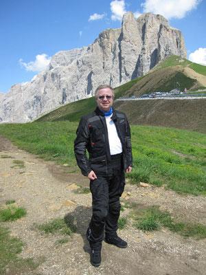 Beweisfoto 2 - Sella-Joch (2240m)