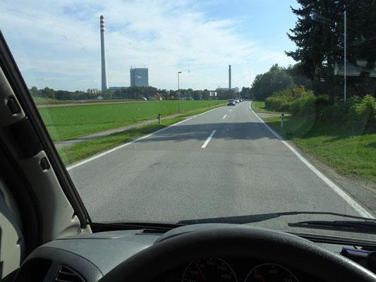 Kohlekraftwerk Riedersbach mit 191m-Kamin