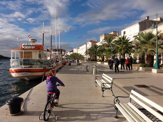 Hafen-Prommenade von Mali Lošinj