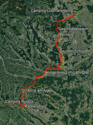 GPS-Track, 191 km