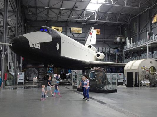 Buran, das russische Space Shuttle