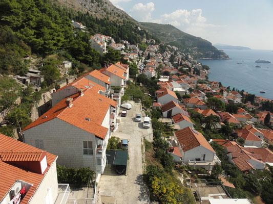 Dubrovnik aus der Seilbahn