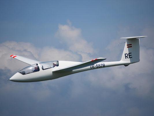 OE-5578 Grob G103 Twin-Astir - Schulflugzeug meines Heimatvereines in Stockerau, mit dem ich meine Flugzeugschleppausbildung gemacht habe und heute unsere Segelflugschüler ausbilde.