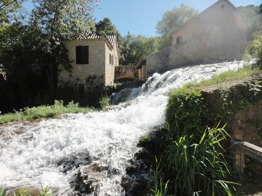 Wassermühle bei den Krka-Wasserfällen