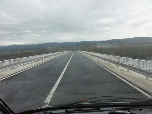 Krk-Brücke zum Festland