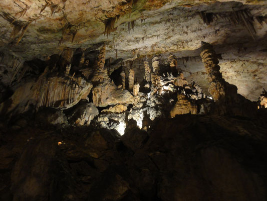 Höhle von Postojna, faszinierend schöne Steingebilde