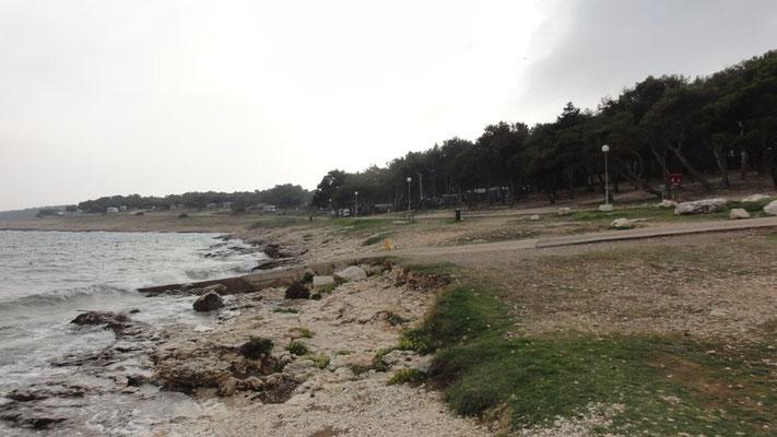 Strand in Premantura