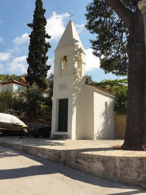 Vermutlich die kleinste Kirche Kroatiens