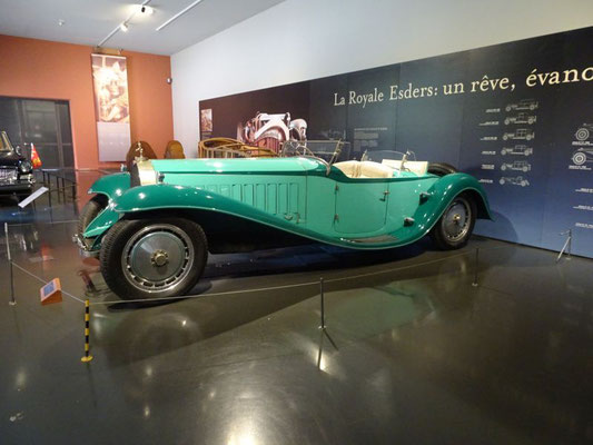 Bugatti Type 41 Royale Roadster Armand Esders