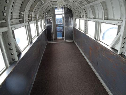 Innenraum der Ju-52