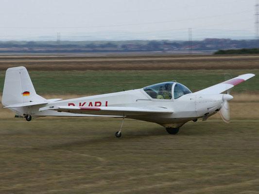 D-KARJ Samburo AV68R - Schul-, Reise- und Schleppflugzeug meiner Freunde aus Altlichtenwarth.