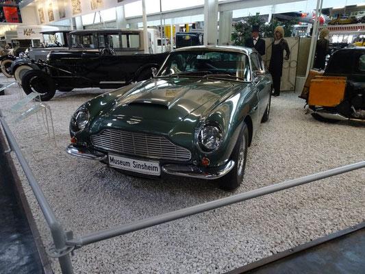 Aston Martin - James Bond lässt grüßen