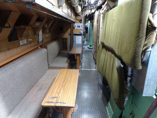 Innenraum des U-Bootes