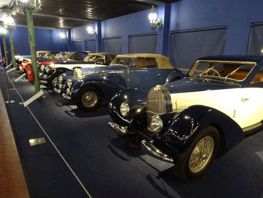 Nur ein kleiner Teil der Bugatti-Sammlung