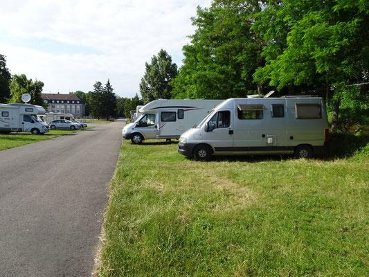 Wohnmobil-Stellplatz direkt beim Technik-Museum in Speyer