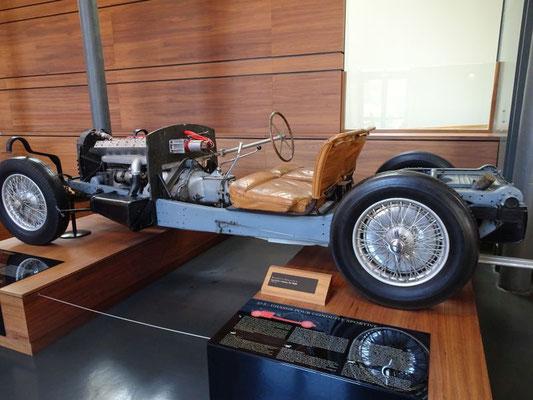 Fahrgestell eines Bugatti Type 57