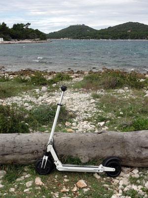 Mit der Mini-Rakete auf einer Inselrunde