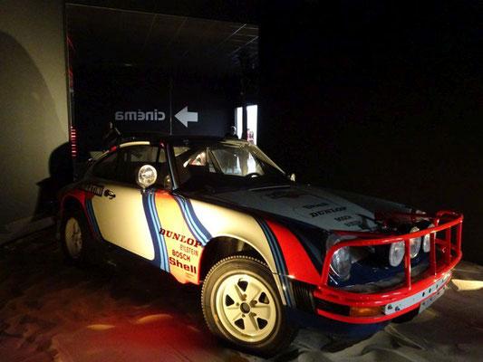 Porsche 911 Rallye-Fahrzeug