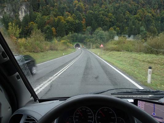 Einfahrt in Zillertal