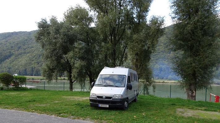 Campingplatz Engelhartszell