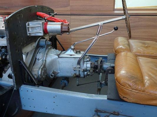Getriebe eines Bugatti Type 57