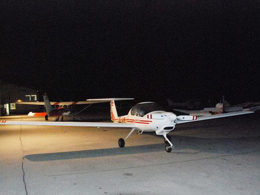 OE-AHM Diamond DA-20 Katana - Schul- und Reiseflugzeug meines Heimatvereines in Stockerau, made in Austria, wie Mopedfahren.