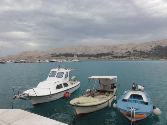 Hafen von Baska