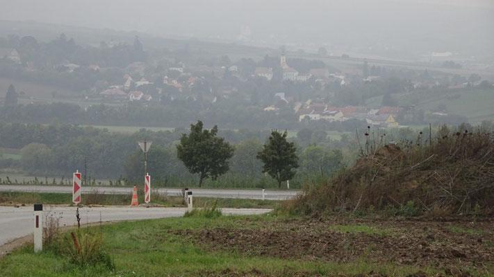Poysbrunn im Nebel