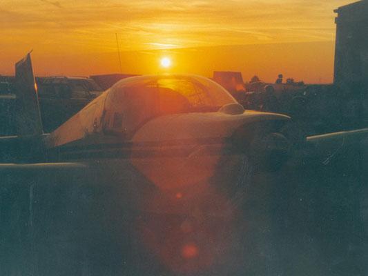 OE-9145 Scheibe SF-25C Falke - Schulungsmotorsegler von meinen Freunden aus Nötsch. Leider nur ein Symbolfoto.