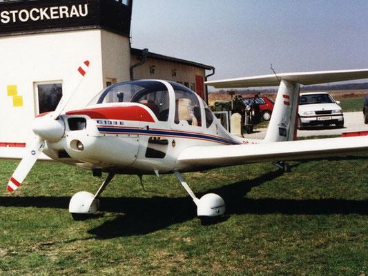 OE-9231 Grob G-109B - ehemaliger Reisemotorsegler meines Heimatvereines in Stockerau, mit dem ich recht gerne geflogen bin, gute Leistungen, Cockpit wie ein Motorflugzeug, leider in Kroatien abgestürzt.
