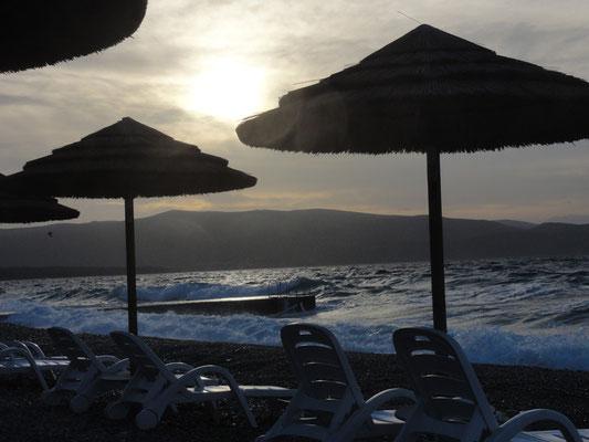 Morgenstimmung am Strand von Krk