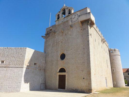 Mächtige Wehrkirche von Vrboska