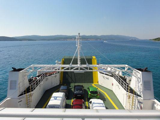 Fähre von Orebić zur Insel Korčula