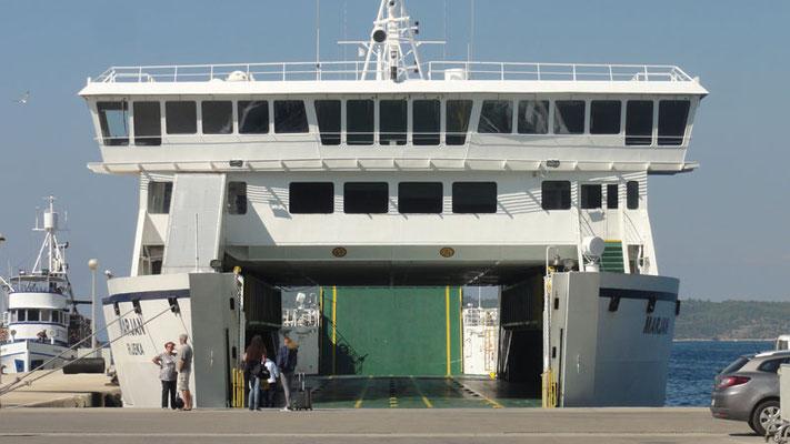 Fünfspurige Einbahn-Straße nach Split