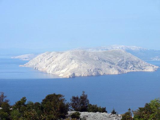 Prvić, die größte unbewohnte Insel der Adria