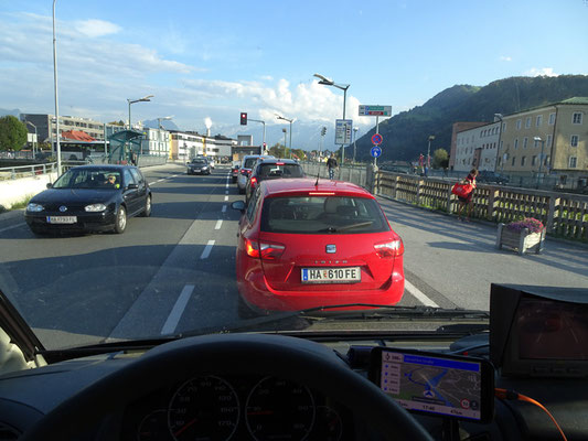 Rush-hour in Hallein