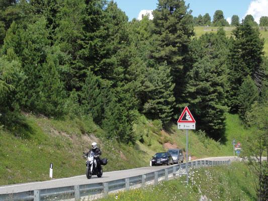 Irgendwo im Motorrad-Paradies