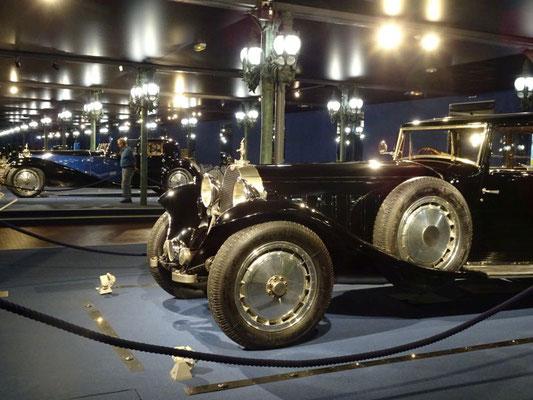 Der einzige Ort der Welt, wo 2 Bugatti Royale nebeneinander stehen