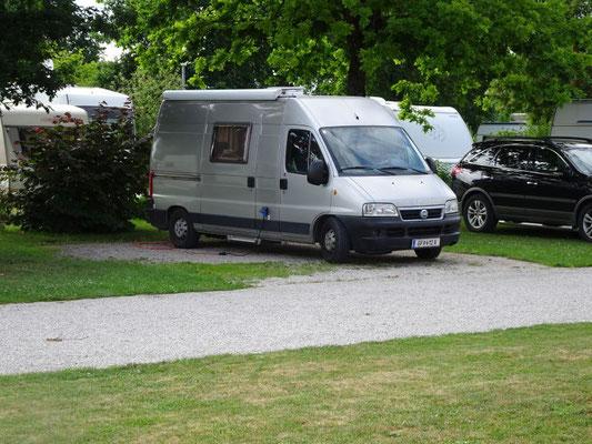 Campingpatz bei Neustadt an der Donau
