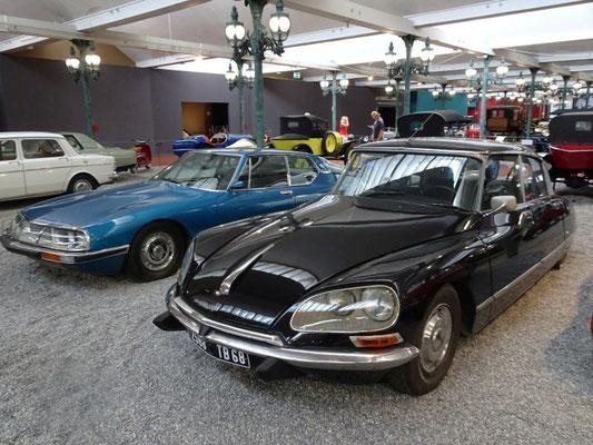 Citroën DS und Citroën SM (mit Maserati-Motor)