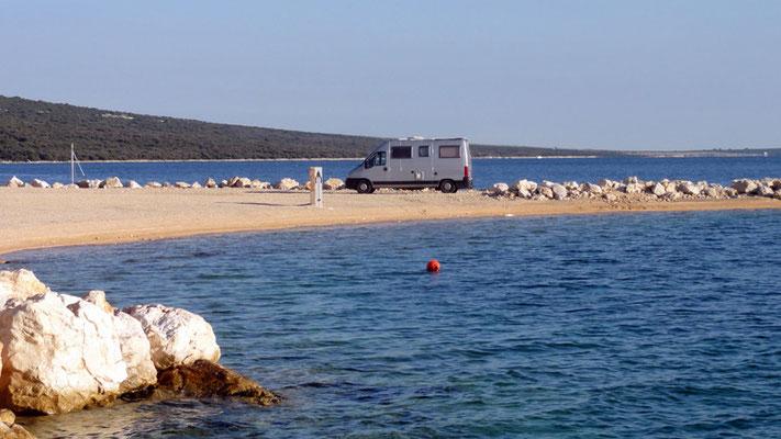 Simuni, Insel Pag, Kroatien