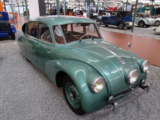 Tatra, der Einfluss der Aerodynamik wird schon deutlich