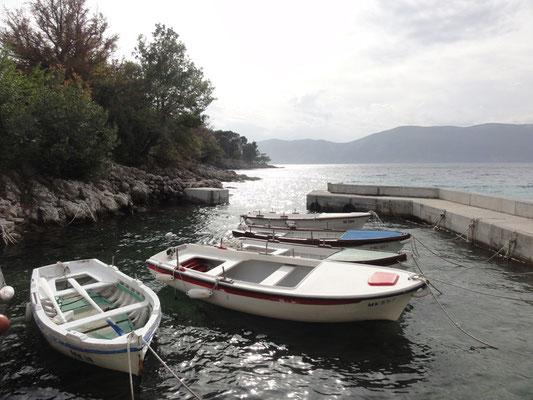 Hafen von Glavotok