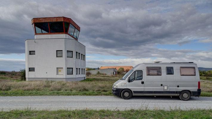 Geschlossener Flugplatz Trausdorf