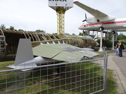 Lockheed F-104 Starfighter, etwas ungepflegt