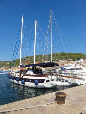 Hafen von Vela Luka
