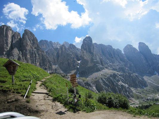 Irgendwo in den Dolomiten